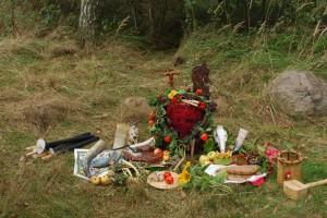 Herbstfest Altar