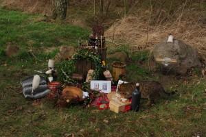 Altar zu Ehren Friggs