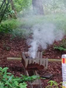 Grill oder Nebelmaschine?