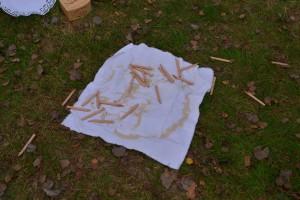 Runenstäbe sind geworfen