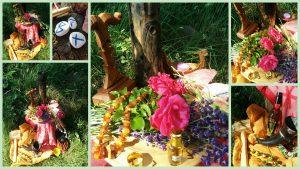 Unser reich geschmückter Altar